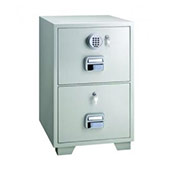 2 Drawer Small Fire Filing Cabinets