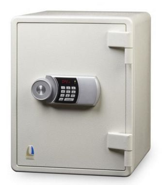 Locktech Jumbo Safe  ES031D White