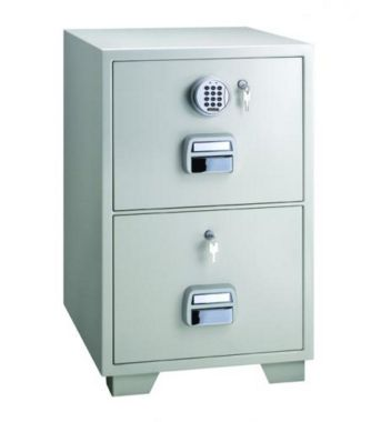 Locktech 2 Drawer Filing Cabinet SF680-2EKK