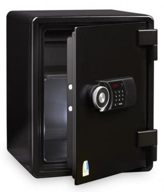 Locktech Jumbo Safe  ES031D Black