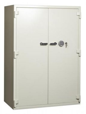 Locktech Eagle ES-700 Double Door Document Safe on Wheels