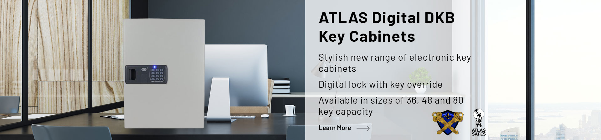 Learn more about the Atlas Digital DKB Key Cabinets