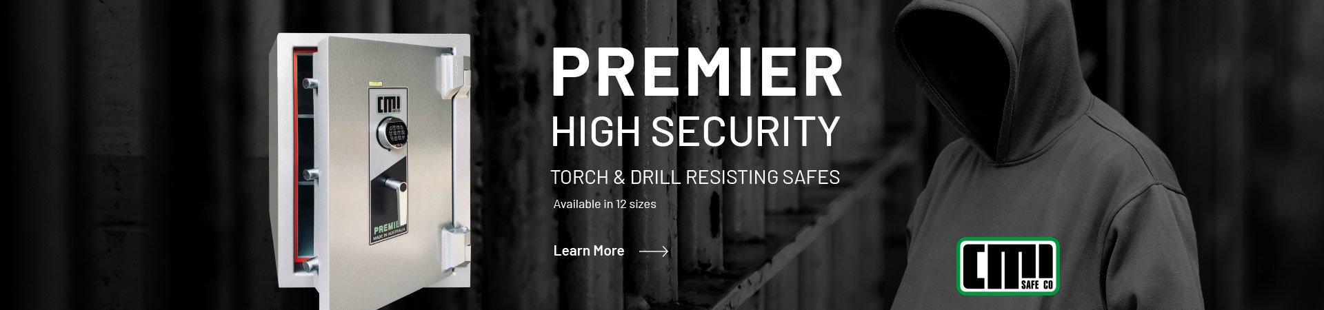 View our Premier Torch & Drill resistant safe