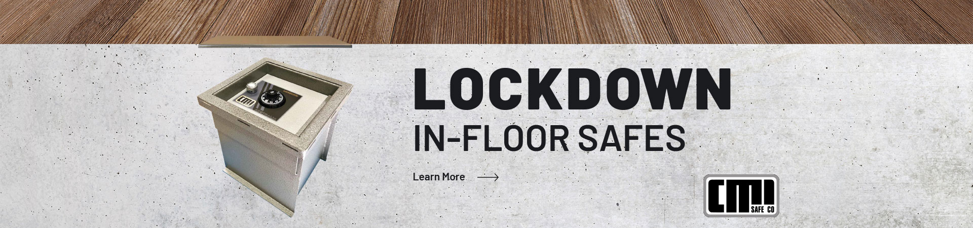 Learn more about our lockdown in-floor safe